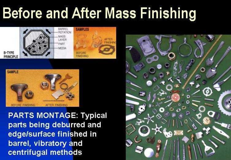 Mass Finished Parts