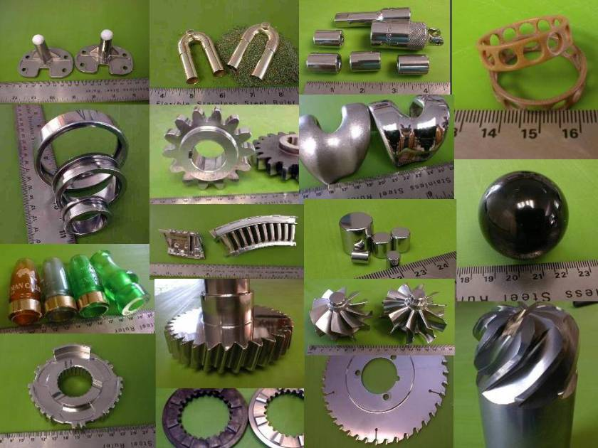 Parts of all sizes, shapes and compositions have been deburred, edge-finished, surface conditioned and even polished using mass finishing methods such as centrifugal barrel finishing.  These parts exhibit isotropic surface conditions that can extend service life and improve function.