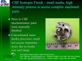 CBF complex machined part