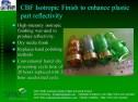 CBF Isotropic for Plastics