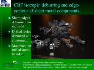 CBF-Isotropic sheet metal components