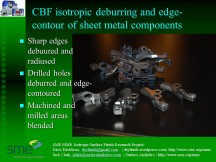 CBF-Isotropic sheet metal components