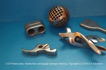 3-D Printed Parts 2016
