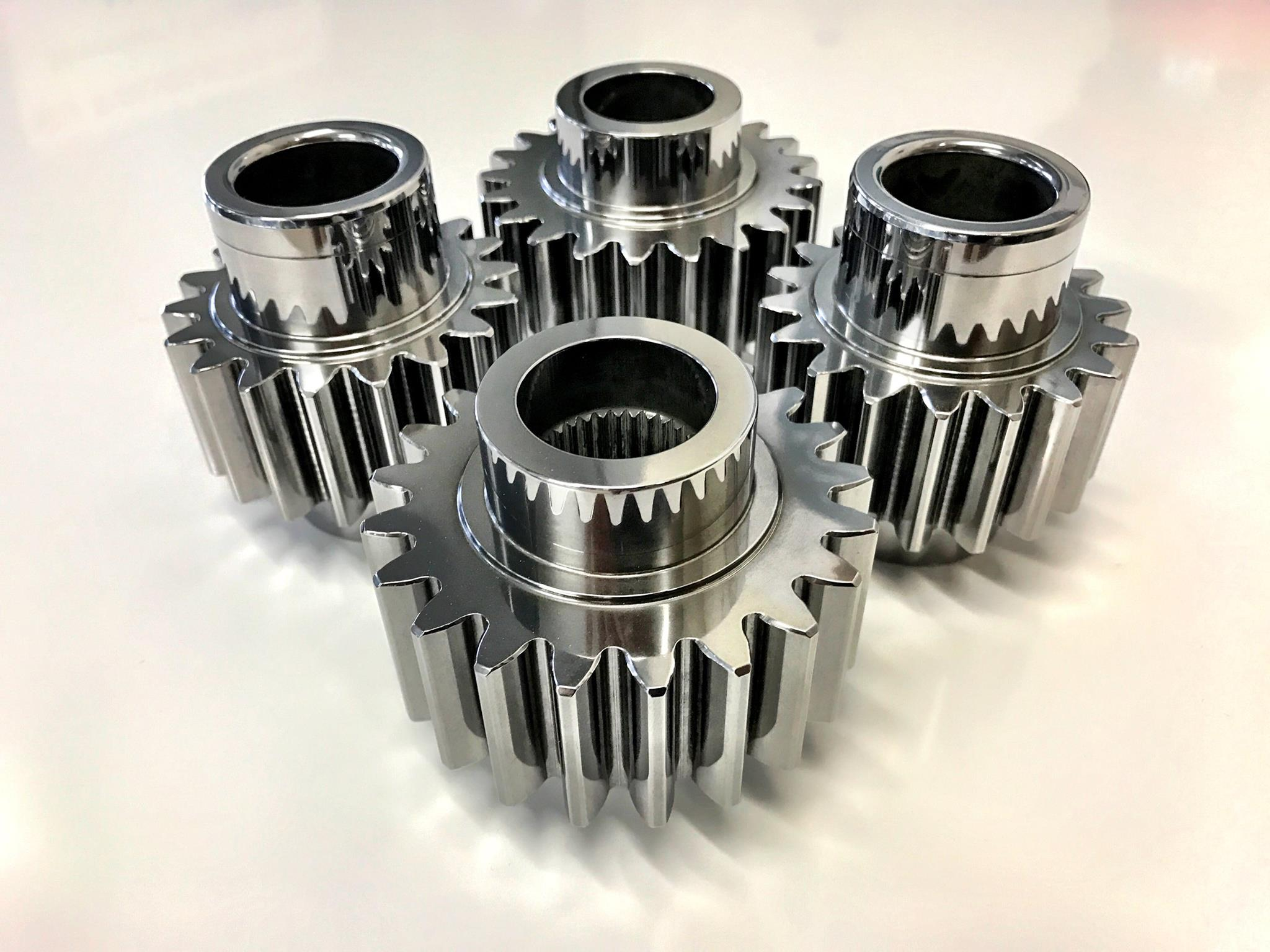 Next Generation Finishing Technology for Gears and Other Cooperating Parts