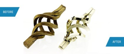 architectural brass rails