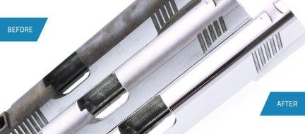 Cast and Machined Alloy Steel Handgun Slides