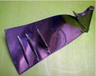 finished turbine blade