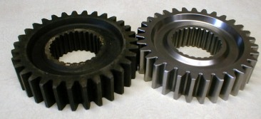 Gears 2 heat treat scale removal