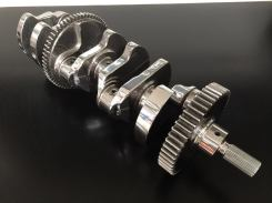 ISF finished gear crankshaft