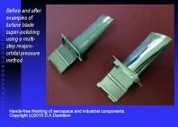 Turbone Blade polish