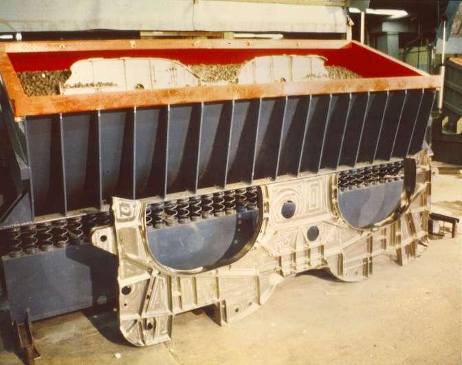vibratory tub titanium bulkhead