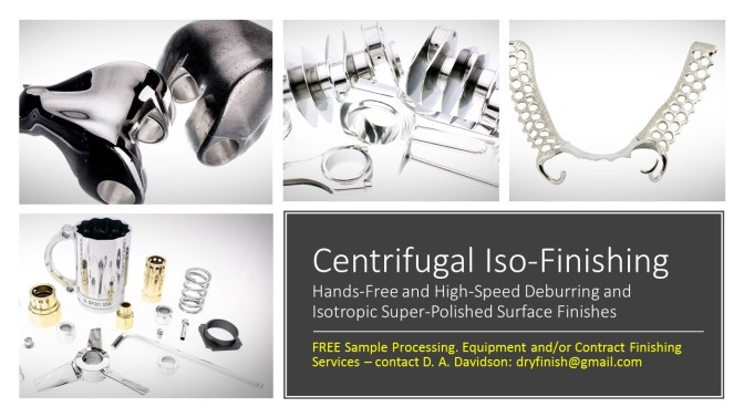 Centrifugal Iso-Finishing 2